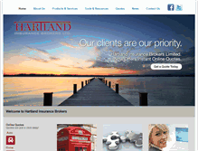Tablet Preview of hartlandinsurance.ca